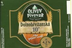 Dolní Břežany minipivovar Olivův 1007