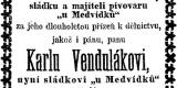U_Medvidku 1882 prani_chasy