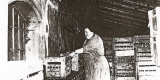 Plasy Zámecký pivovar historické snímky (Luděk Gasseldorfer , archiv p. Štruncové) lahvárna