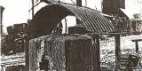 Plasy Zámecký pivovar historické snímky (Luděk Gasseldorfer , archiv p. Štruncové) nádoba na požehování sudů