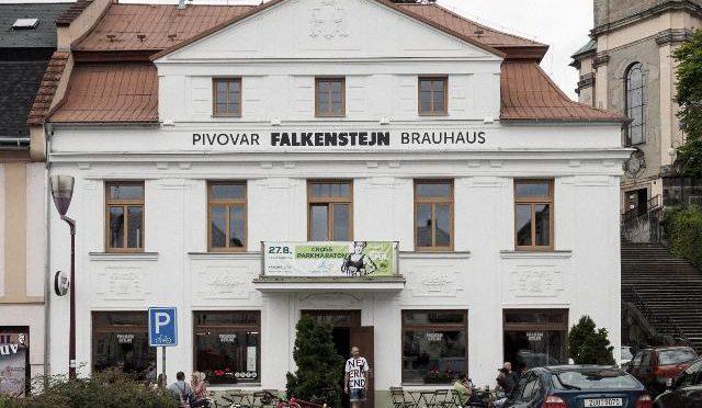 Minipivovar Falkenštejn Krásná Lípa